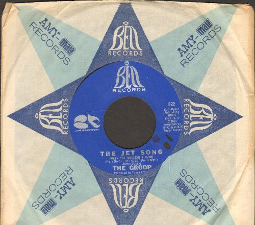 Groop - Nobody At All/The Jet Song (with vintage Bell company sleeve) (bb) - NM9/ - 45 rpm Records