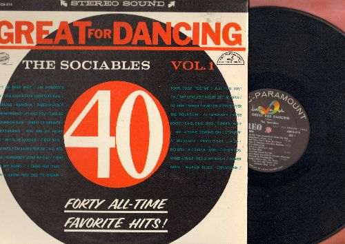 Dociables - Great For Dancing Vol. 1 - 40 All-Time Favorite Hits (vinyl STEREO LP record) - NM9/EX8 - LP Records