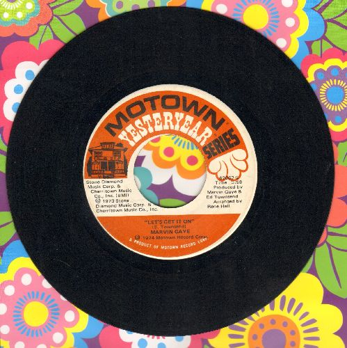 Gaye, Marvin - Let's Get It On/Trouble Man (double-hit re-issue) - EX8/ - 45 rpm Records