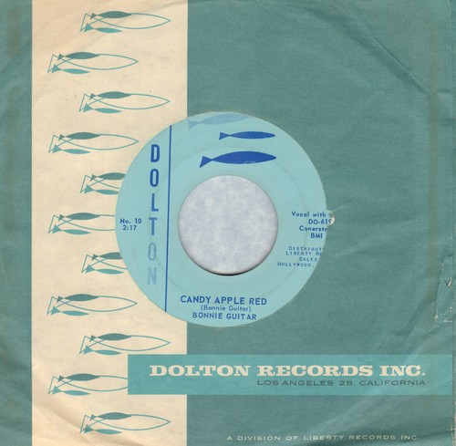 Guitar, Bonnie - Candy Apple Red/Come To Me I Love You (with RARE vintage Dolton company sleeve) - NM9/ - 45 rpm Records