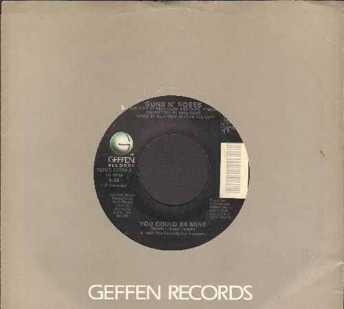 Guns N' Roses - You Could Be Mine/Civil War (with Geffen company sleeve) - EX8/ - 45 rpm Records