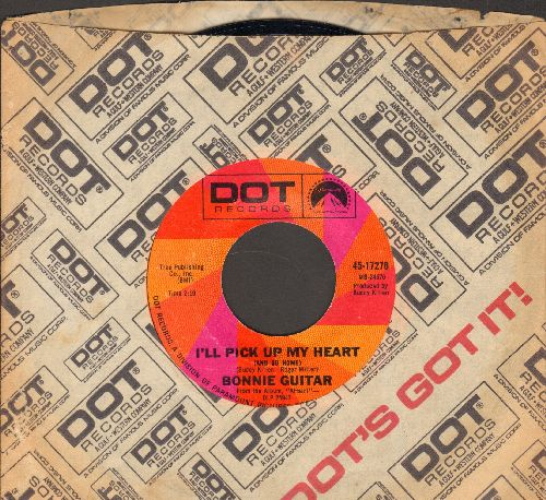 Guitar, Bonnie - I'll Pick Up My Heart/That See Me Later Look (with Dot company sleeve) - NM9/ - 45 rpm Records