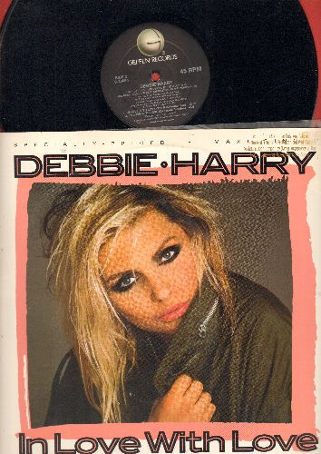 Harry, Debbie - In Love With Love (3 Extended Dance Club Mixes on 12 inch vinyl Maxi Single with picture cover) (DJ advance pressing) - NM9/EX8 - 45 rpm Records