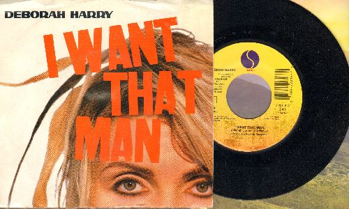 Harry, Deborah - I Want That Man (DANCE CLUB FAVORITE!)/Bike Boy (with picture sleeve) - NM9/VG7 - 45 rpm Records