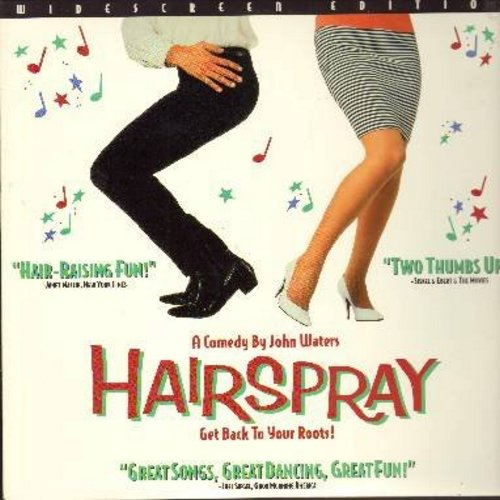 Hairspray - Hairspray - The 1988 John Waters Cult Classic - This is a LASER DISC, NOT ANY OTHER KIND OF MEDIA!) - NM9/NM9 - Laser Discs