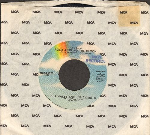 Haley, Bill & His Comets - Rock Around The Clock/Thirteen Women (re-issue with MCA company sleeve) - EX8/ - 45 rpm Records