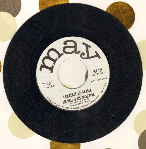 Hall, Jim & His Orchestra - Lawrence Of Arabia/Brotherly Feeling (DJ advance pressing) (minor wol) - NM9/ - 45 rpm Records