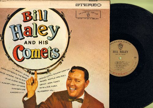 Haley, Bill & His Comets - Bill Haley & His Comets: Rock Around The Clock, My Special Angel, Blueberry Hill, Blue Suede Shoes, Crazy Man Crazy (vinyl STEREO LP record) - NM9/NM9 - LP Records
