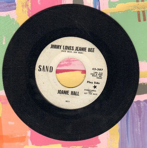 Hall, Joanie - Jimmy Loves Jeanie Bee/No Concern Of Mine (DJ advance pressing) - VG7/ - 45 rpm Records