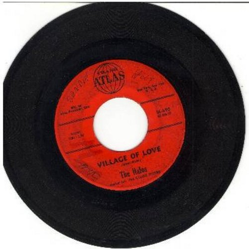 Halos - Village Of Love/Mean Old World - VG6/ - 45 rpm Records