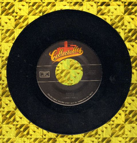 Hall, Larry - Sandy/Lovin' Tree (double-hit re-issue) - M10/ - 45 rpm Records