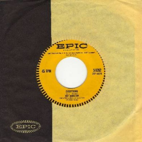 Hamilton, Roy - Everything/Wait For Me (with Epic company sleeve) - NM9/ - 45 rpm Records