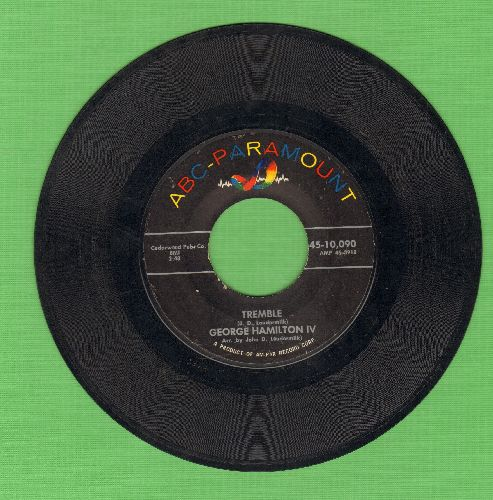 Hamilton, George IV - Tremble/Why I'm Walkin' - VG7/ - 45 rpm Records