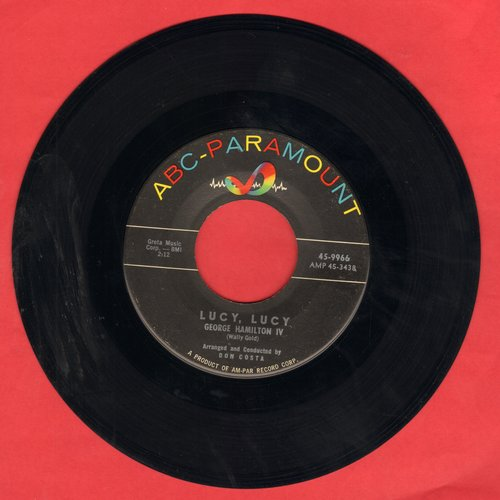Hamilton, George IV - Lucy, Lucy/The Two Of Us - NM9/ - 45 rpm Records