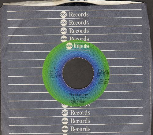 Handy, John - Hard Work/Young Enough To Dream (with ABC company sleeve) - NM9/ - 45 rpm Records
