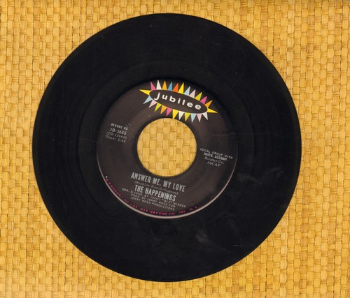 Happenings - Answer Me, My Love/I Need A Woman - NM9/ - 45 rpm Records