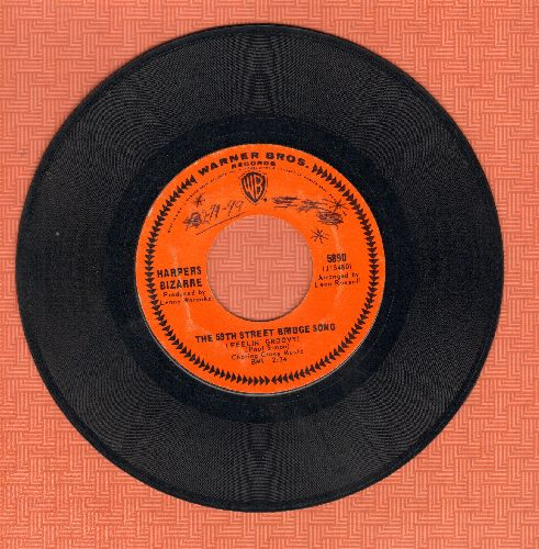 Harpers Bizarre - The 59th Street Bridge Song/Lost My Love Today (wol) - EX8/ - 45 rpm Records
