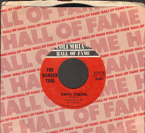 Harden Trio - Tippy Toeing/Husbands And Wives (double-hit re-issue with Columbia company sleeve) - M10/ - 45 rpm Records