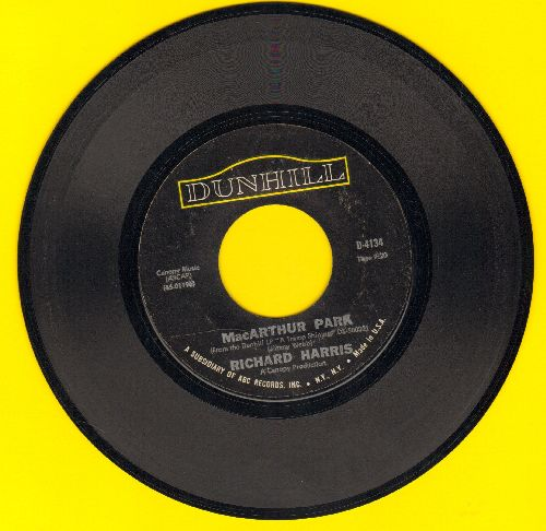 Harris, Richard - Mac Arthur Park (unedited 7:20 minute version!)/Didn't We  - VG7/ - 45 rpm Records