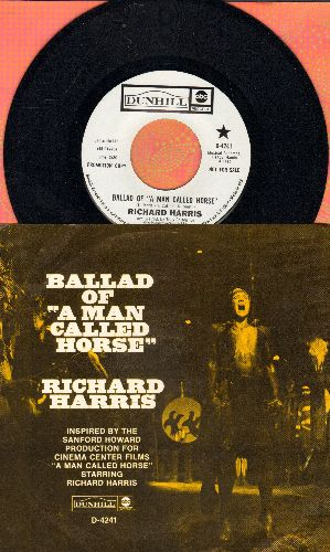 Harris, Richard - Ballad Of -A Man Called Horse-/The Morning Of The Mourning For Anthony Kennedy (DJ advance pressing with picture sleeve) - NM9/EX8 - 45 rpm Records