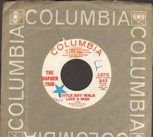 Harden Trio - Little Boy Walk Like A Man/Dear Brother (DJ advance pressing with Columbia company sleeve, wol) - EX8/ - 45 rpm Records