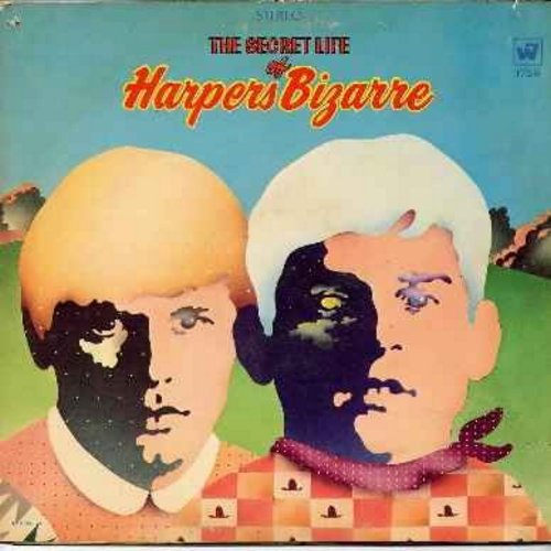 Harpers Bizarre - The Secret Life of Harpers Bizarre: Battle Of New Orleans, Look To The Rainbow, I'll Build A Stairway To Paradise, Sit Down You're Rocking The Boat, Sentimental Journey (vinyl LP record, gate-fold cover) - NM9/VG7 - LP Records