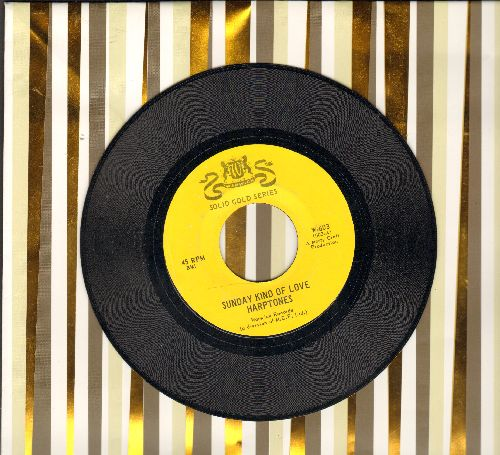 Harptones - Sunday Kind Of Love/I Almost Lost My Mind (authentic-looking double-hit re-issue) - M10/ - 45 rpm Records