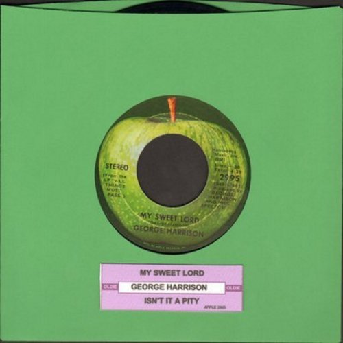 Harrison, George - My Sweet Lord/Isn't It A Pity (with juke box label) - EX8/ - 45 rpm Records