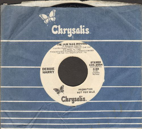 Harry, Debbie - The Jam Was Moving (double-A-sided DJ advance pressing with Chrysalis company sleeve) - NM9/ - 45 rpm Records
