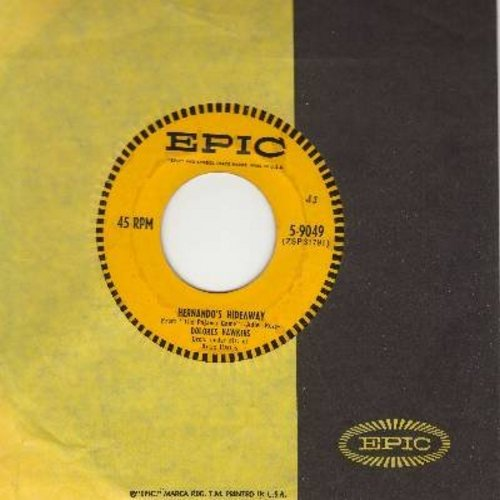 Hawkins, Dolores - Hernando's Hideaway/Hey There - VG7/ - 45 rpm Records