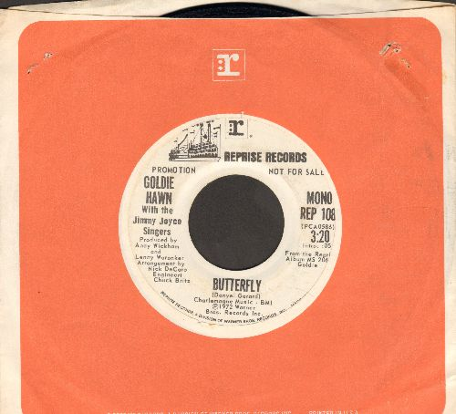 Hawn, Goldie - Butterfly (DJ advance presing) - EX8/ - 45 rpm Records