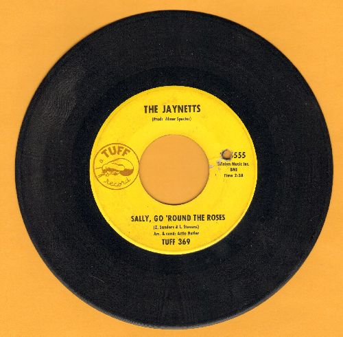 Jaynetts - Sally, Go 'Round The Roses/Instrumental sing-along version of hit (bb) - EX8/ - 45 rpm Records