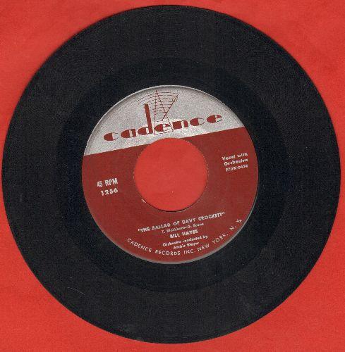 Hayes, Bill - The Ballad Of Davy Crockett/Farewell - EX8/ - 45 rpm Records