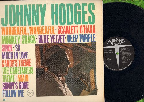 Hodges, Johnny - Sandy's Gone: Blue Velvet, So Much In Love, Deep Purple, The Caretakers Theme (vinyl MONO LP record) (bb lower left corner) - NM9/EX8 - LP Records