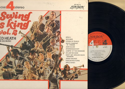Heath, Ted & His Music - Swing Is King: Jersey Bounce, Harlem Nocturne, South Rampart St. Parade, String Of Pearls (vinyl STEREO LP record, gate-fold cover) - NM9/EX8 - LP Records
