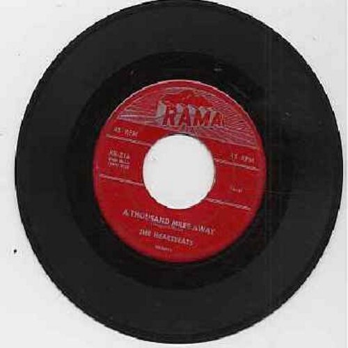 Heartbeats - A Thousand Miles Away/Oh Baby Don't (red label) - VG6/ - 45 rpm Records