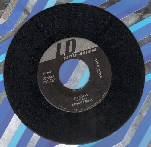Helms, Bobby - So Long/Just Do The Best You Can - EX8/ - 45 rpm Records