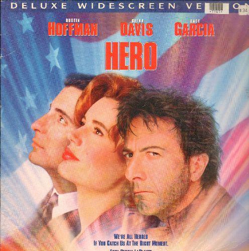Hero - Hero Laser Disc Starring Dustin Hoffman, Gena Davis and Andy Garcia - EX8/EX8 - Laser Discs