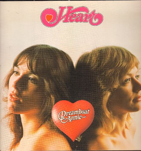 Heart - Dreamboat Annie: Magic Man, How Deep It Goes, Soul Of The Sea, Sing Child (vinyl STEREO LP record, gate-fold cover with original cardboard inner sleeve) - EX8/EX8 - LP Records