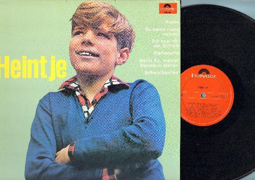 Heintje - Heintje: Mama, Ich bau dir ein Schloss, Du sollst nicht weinen, Mamatschi, Weisst du wieviel Sternlein stehen (vinyl STEREO LP record, Canadian pressing, sung in German) - NM9/NM9 - LP Records