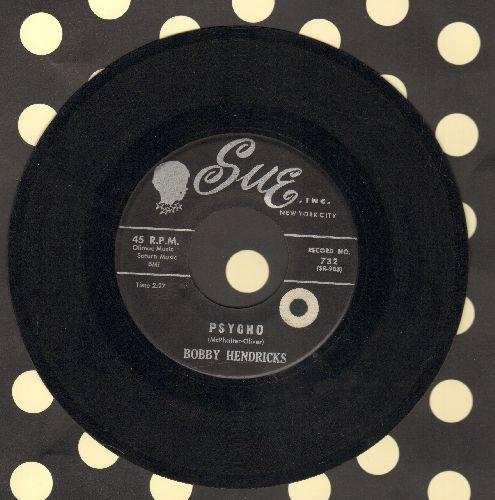 Hendricks, Bobby - Psycho/Too Good To Be True (sol) - EX8/ - 45 rpm Records