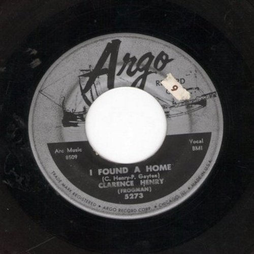 Henry, Clarence - I Found A Home/It Won't Be Long - VG7/ - 45 rpm Records