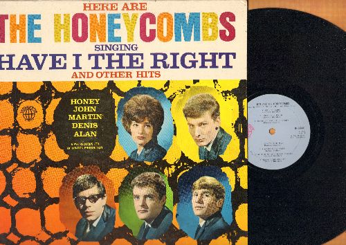 Honeycombs - Here Are The Honeycombs: Have I The Right, I Want To Be Free, Color Slide, Nice While It Lasts, It Ain't Necessarily So (vinyl MONO LP record, NICE condition!) - NM9/NM9 - LP Records
