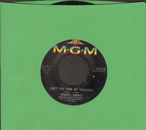 Herman's Hermits - Can't You Hear My Heartbeat/I Know Why  - VG7/ - 45 rpm Records
