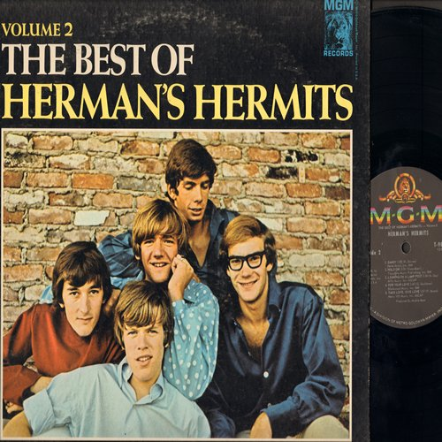 Herman's Hermits - The Best Of Herman's Hermits Volume 2: Listen People, Bus Stop, Dandy, For Your Love, A Must To Avoid (vinyl LP record) - NM9/VG7 - LP Records