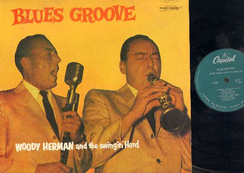 Herman, Woody - Blues Groove: Everyday I Got The Blues, Trouble In Mind, Smack Dab In The Middle, Pinetop's Blues, Basin Street Blues, Dupress Blues, Blues Groove (vinyl LP record) (seam split) - NM9/VG7 - LP Records