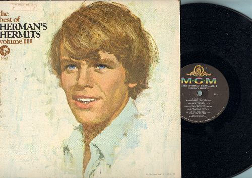 Herman's Hermits - The Best Of Herman's Hermits Vol. 3: There's A Kind Of Hush, East West, No Milk Today, Wings Of Love (vinyl MONO LP record) - NM9/VG7 - LP Records