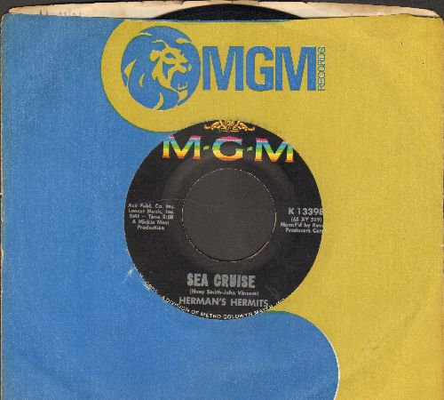 Herman's Hermits - Sea Cruise/Just A Little Bit Better (with MGM company sleeve) - NM9/ - 45 rpm Records