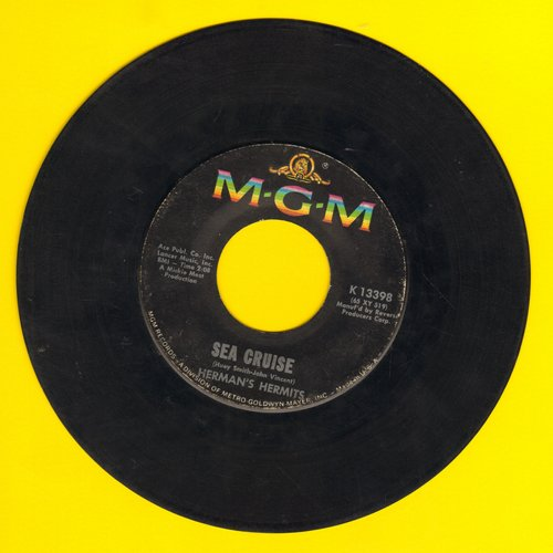 Herman's Hermits - Sea Cruise/Just A Little Bit Better - VG7/ - 45 rpm Records