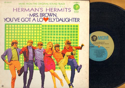 Herman's Hermits - Mrs. Brown You've Got A Lovely Daughter - Music from the Original Movie Sound Track: There's A Kind Of Hush,  Lemon And Lime (vinyl STEREO LP record, gate-fold cover, bb in lower left corner cover) - NM9/VG7 - LP Records